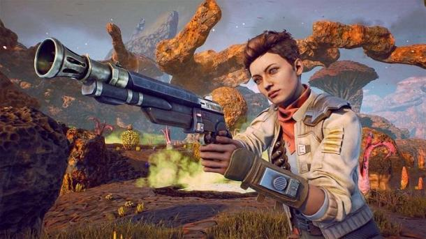 40 минут игрового процесса The Outer Worlds The Outer Worlds
